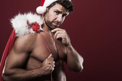 Weihnachtsmann Stripper